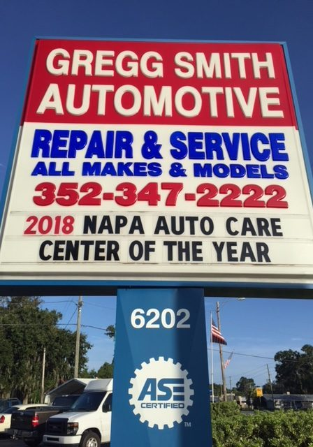 Napa Auto Care Center of the Year